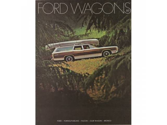 Book Sales Brochure Original Ford 12 Pages Nos