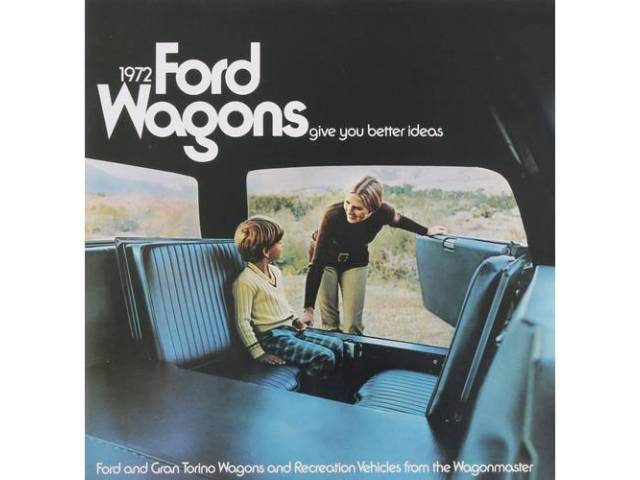 1972 FORD STATION WAGONS SALES BROCHURE