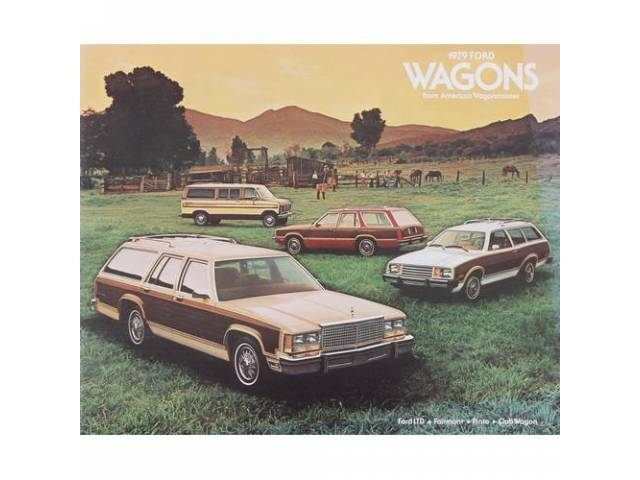 1979 FORD STATION WAGONS SALES BROCHURE