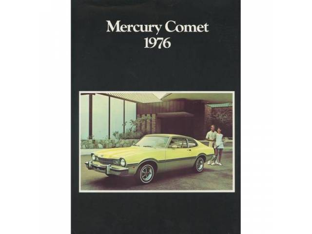 1976 MERCURY COMET SALES BROCHURE