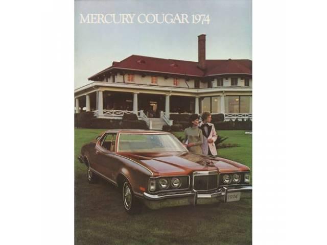 1974 MERCURY COUGAR SALES BROCHURE
