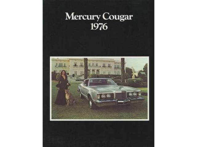 1976 MERCURY COUGAR SALES BROCHURE