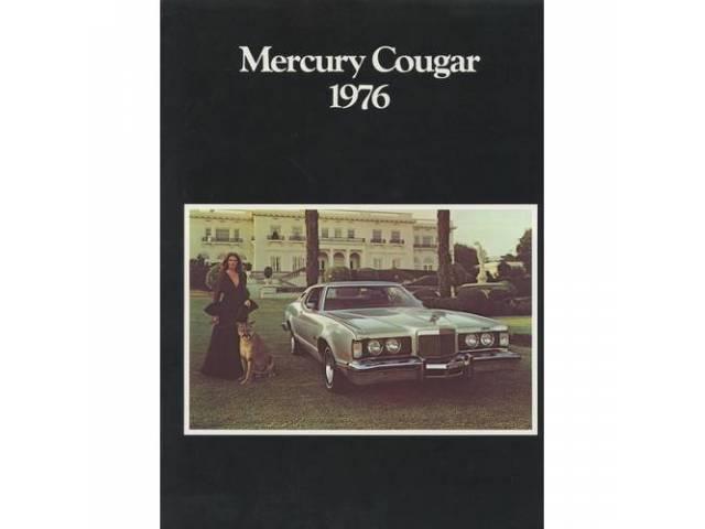 1976 MERCURY COUGAR SALES BROCHURE