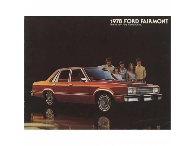 1978 FORD FAIRMONT SALES BROCHURE