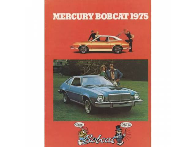 1975 MERCURY BOBCAT SALES BROCHURE