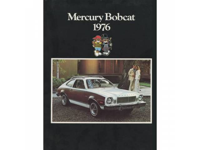 1976 MERCURY BOBCAT SALES BROCHURE