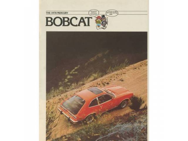 1978 MERCURY BOBCAT SALES BROCHURE