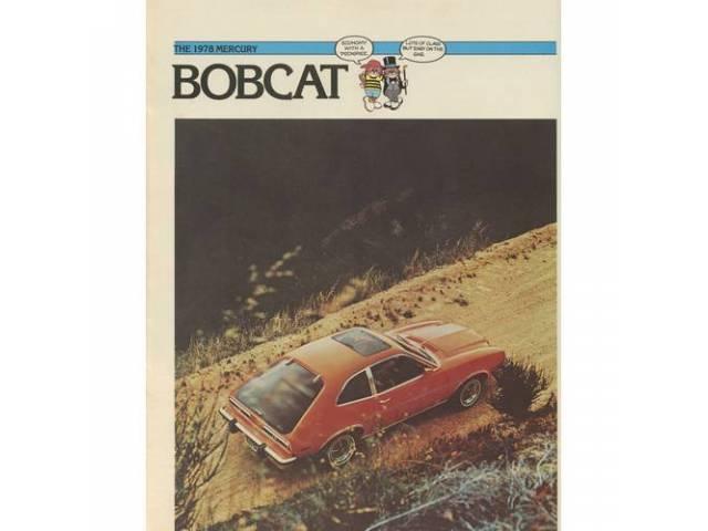 1978 MERCURY BOBCAT SALES BROCHURE
