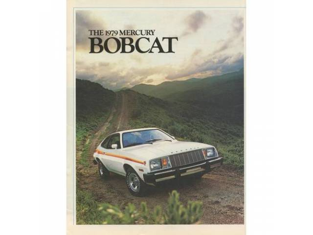 1979 MERCURY BOBCAT SALES BROCHURE