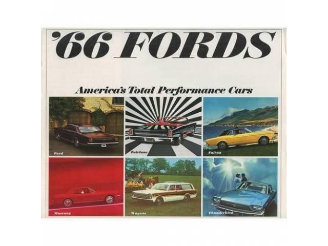 1966 FORD FULL LINE SALES BROCHURE