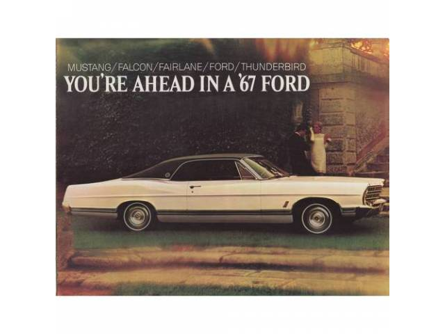 Book Sales Brochure Original Ford 16 Pages Nos