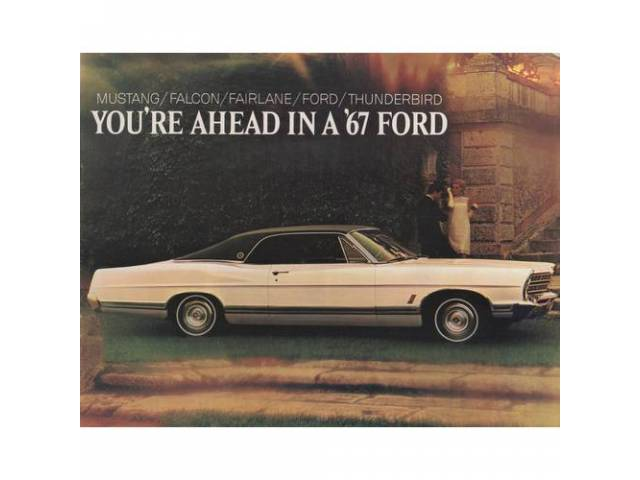 1967 FORD FULL LINE SALES BROCHURE
