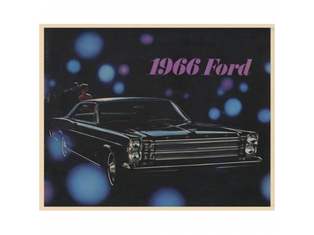 1966 FORD FULL SIZE SALES BROCHURE