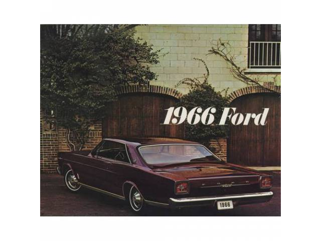 Original Ford Sales Brochure 1966 Ford Full Size
