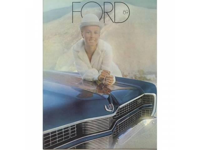Book Sales Brochure Original Ford 24 Pages Nos