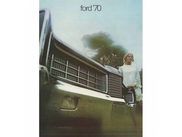 1970 FORD FULL SIZE SALES BROCHURE