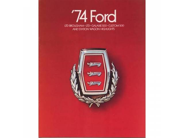 1978 FORD FULL SIZE SALES BROCHURE
