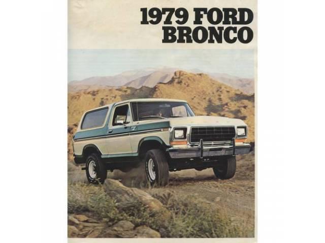1979 FORD BRONCO SALES BROCHURE