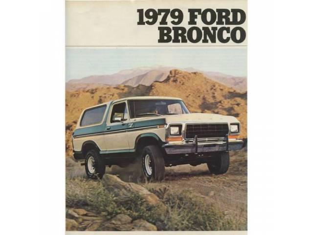 Original Ford Sales Brochure 1979 Ford Bronco 8