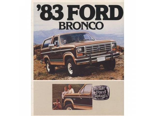 Book Sales Brochure Original Ford 10 Pages Nos