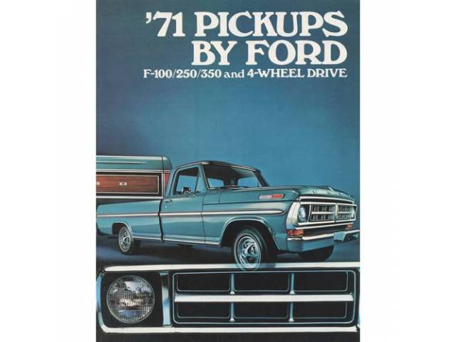 Book Sales Brochure Original Ford 16 Pages Nos
