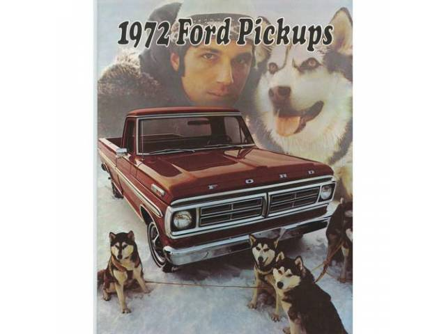 1972 FORD F-SERIES TRUCK SALES BROCHURE
