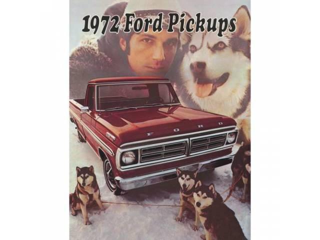1972 FORD F-SERIES TRUCK SALES BROCHURE