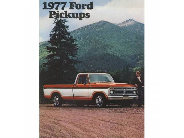 1977 FORD F-SERIES TRUCK SALES BROCHURE