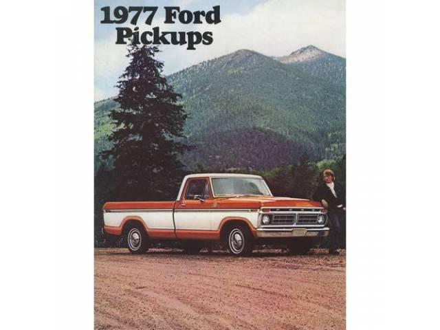 1977 FORD F-SERIES TRUCK SALES BROCHURE