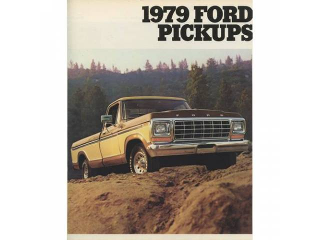 1979 FORD F-SERIES TRUCK SALES BROCHURE