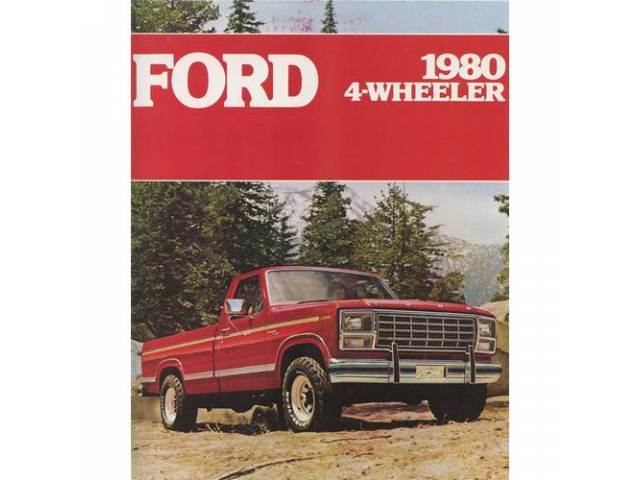 Book Sales Brochure Original Ford 8 Pages Nos