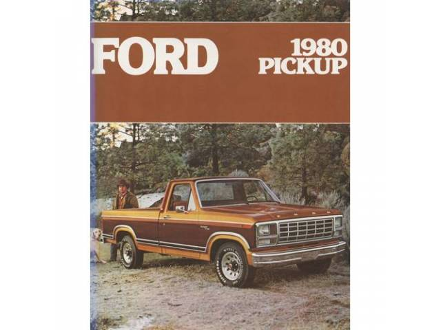1980 FORD F-SERIES TRUCK SALES BROCHURE