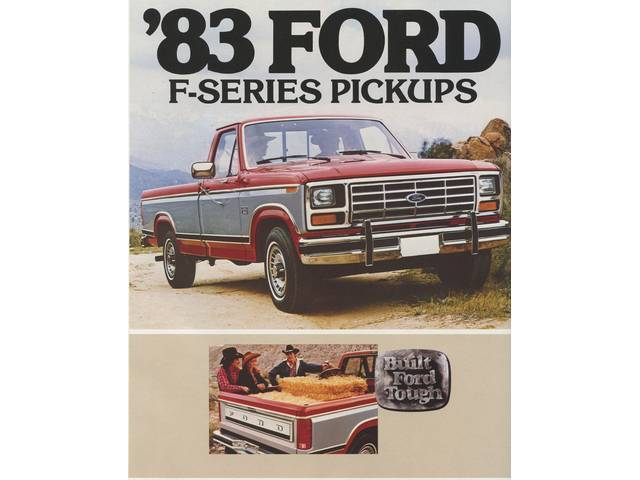 Book Sales Brochure Original Ford 22 Pages Nos