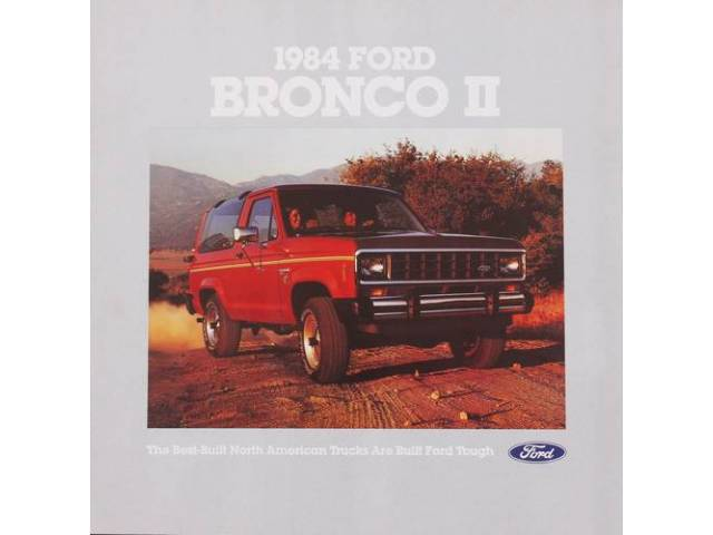 Original Ford Sales Brochure 1984 Ford Bronco 2