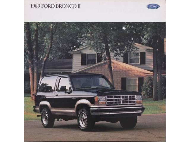1989 FORD BRONCO 2 SALES BROCHURE