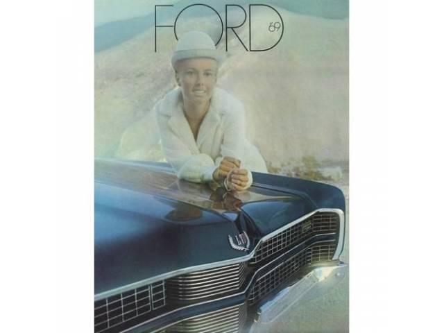 1969 FORD LTD SALES BROCHURE