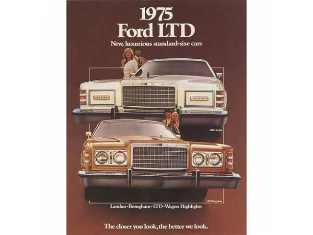 Book Sales Brochure Original Ford 12 Pages Nos