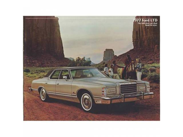 1977 FORD LTD SALES BROCHURE