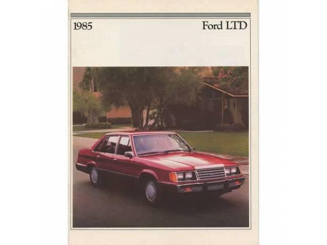 1985 FORD LTD SALES BROCHURE