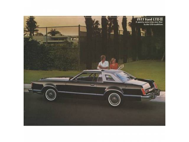 1977 FORD LTD 2 SALES BROCHURE