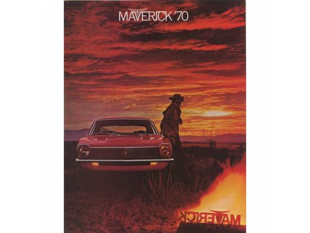 1970 FORD MAVERICK SALES BROCHURE