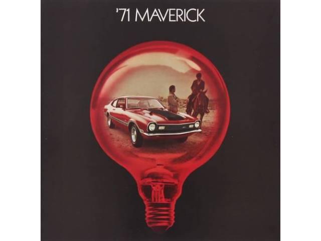 1971 FORD MAVERICK SALES BROCHURE