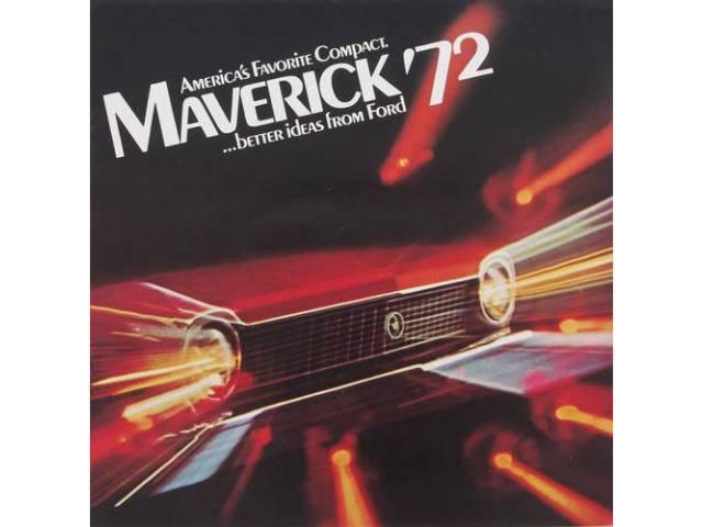 1972 FORD MAVERICK SALES BROCHURE