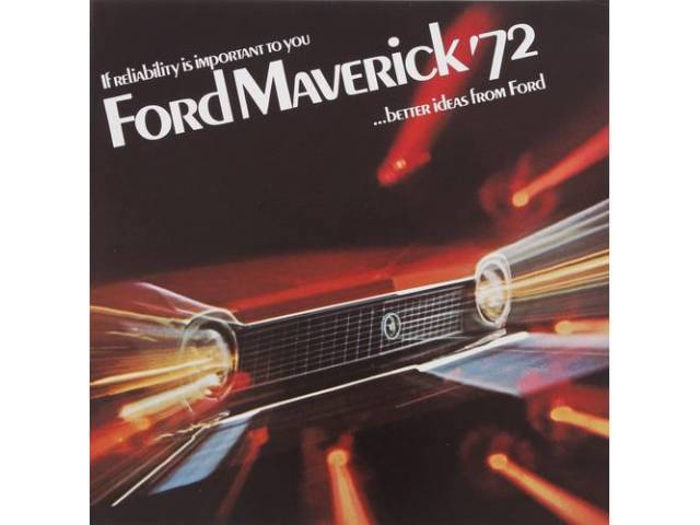1972 FORD MAVERICK SALES BROCHURE