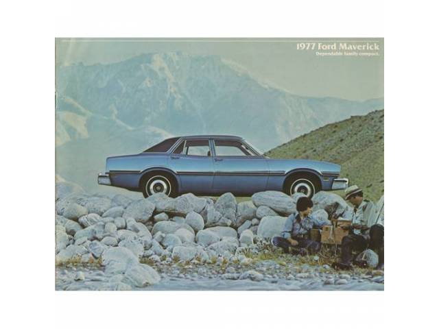 1977 FORD MAVERICK SALES BROCHURE
