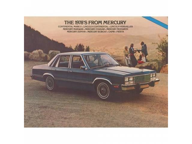 1978 MERCURY FULL LINE SALES BROCHURE