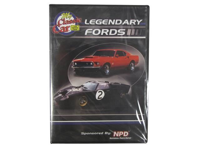 DVD, *LEGENDARY FORDS* BY MY CLASSIC CAR