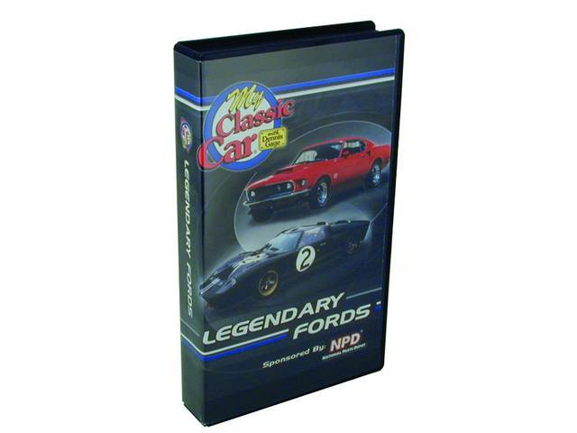 VIDEO, *LEGENDARY FORDS* BY MY CLASSIC CAR