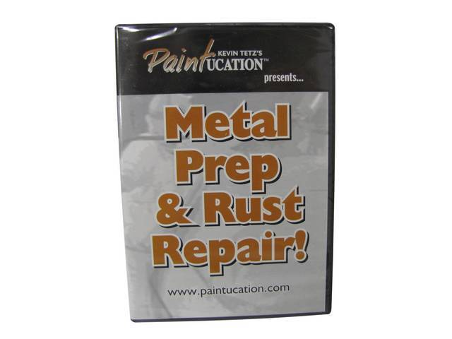 DVD, PAINTUCATION  METAL PREP AND RUST REPAIR