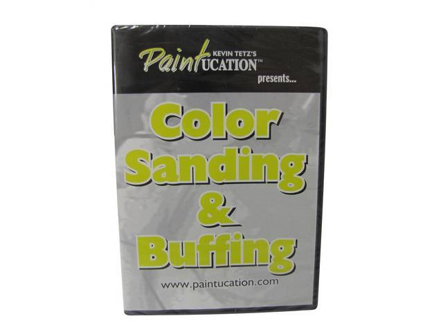 DVD, PAINTUCATION  COLOR SANDING AND BUFFING